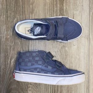 Vans kids Checkerboard Hitops
